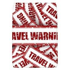 Travel Warning Shield Stamp Flap Covers (s)
