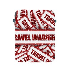 Travel Warning Shield Stamp Apple Ipad 2/3/4 Protective Soft Cases