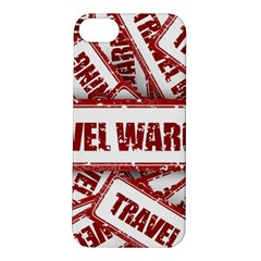 Travel Warning Shield Stamp Apple Iphone 5s/ Se Hardshell Case