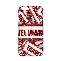 Travel Warning Shield Stamp Apple Iphone 6/6s Hardshell Case