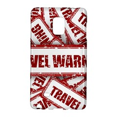 Travel Warning Shield Stamp Galaxy Note Edge