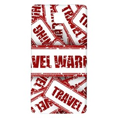 Travel Warning Shield Stamp Galaxy Note 4 Back Case