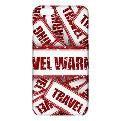 Travel Warning Shield Stamp Iphone 6 Plus/6s Plus Tpu Case