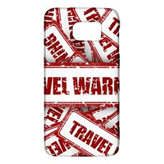 Travel Warning Shield Stamp Galaxy S6