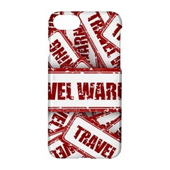 Travel Warning Shield Stamp Apple Iphone 7 Hardshell Case