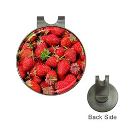 Strawberries Berries Fruit Hat Clips With Golf Markers