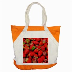 Strawberries Berries Fruit Accent Tote Bag