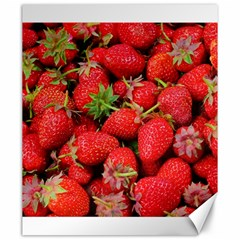 Strawberries Berries Fruit Canvas 20  X 24