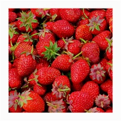 Strawberries Berries Fruit Medium Glasses Cloth
