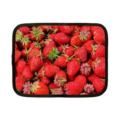 Strawberries Berries Fruit Netbook Case (small)