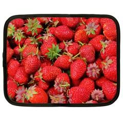 Strawberries Berries Fruit Netbook Case (large)
