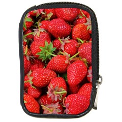 Strawberries Berries Fruit Compact Camera Cases