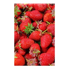 Strawberries Berries Fruit Shower Curtain 48  X 72  (small)