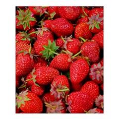Strawberries Berries Fruit Shower Curtain 60  X 72  (medium)