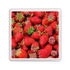 Strawberries Berries Fruit Memory Card Reader (square)