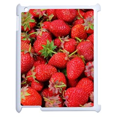 Strawberries Berries Fruit Apple Ipad 2 Case (white)