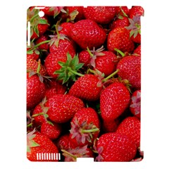 Strawberries Berries Fruit Apple Ipad 3/4 Hardshell Case (compatible With Smart Cover)