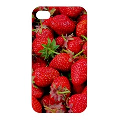 Strawberries Berries Fruit Apple Iphone 4/4s Premium Hardshell Case