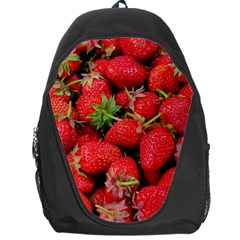 Strawberries Berries Fruit Backpack Bag