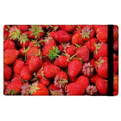 Strawberries Berries Fruit Apple Ipad 3/4 Flip Case