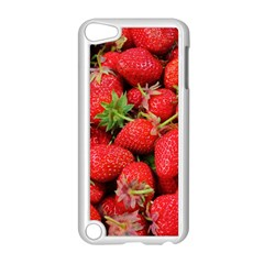 Strawberries Berries Fruit Apple Ipod Touch 5 Case (white)