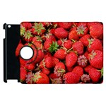 Strawberries Berries Fruit Apple iPad 3/4 Flip 360 Case Front