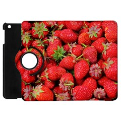 Strawberries Berries Fruit Apple Ipad Mini Flip 360 Case