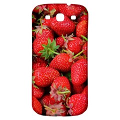 Strawberries Berries Fruit Samsung Galaxy S3 S Iii Classic Hardshell Back Case