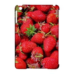 Strawberries Berries Fruit Apple Ipad Mini Hardshell Case (compatible With Smart Cover)