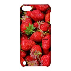 Strawberries Berries Fruit Apple Ipod Touch 5 Hardshell Case With Stand
