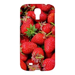 Strawberries Berries Fruit Samsung Galaxy S4 I9500/i9505 Hardshell Case