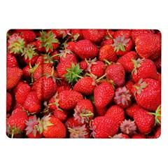 Strawberries Berries Fruit Samsung Galaxy Tab 10 1  P7500 Flip Case