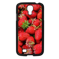 Strawberries Berries Fruit Samsung Galaxy S4 I9500/ I9505 Case (black)