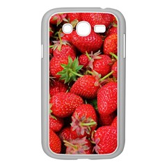 Strawberries Berries Fruit Samsung Galaxy Grand Duos I9082 Case (white)