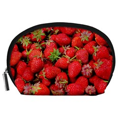 Strawberries Berries Fruit Accessory Pouches (large)