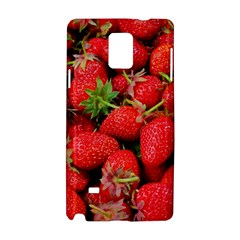 Strawberries Berries Fruit Samsung Galaxy Note 4 Hardshell Case