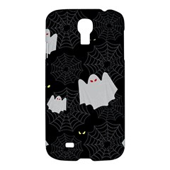 Spider Web And Ghosts Pattern Samsung Galaxy S4 I9500/i9505 Hardshell Case