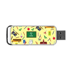Back To School Portable Usb Flash (one Side)