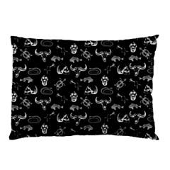 Skeleton Pattern Pillow Case