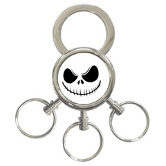 Halloween 3 Ring Key Chains