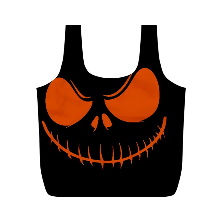 Halloween Full Print Recycle Bags (M)
