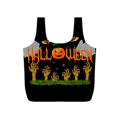 Halloween Full Print Recycle Bags (s)