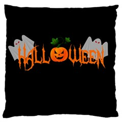 Halloween Standard Flano Cushion Case (one Side)