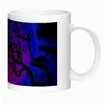 Halloween landscape Night Luminous Mugs Right