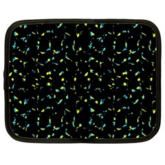 Splatter Abstract Dark Pattern Netbook Case (large)
