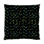 Splatter Abstract Dark Pattern Standard Cushion Case (Two Sides) Front