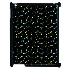 Splatter Abstract Dark Pattern Apple Ipad 2 Case (black)