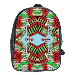Digital Dot One School Bag (large)