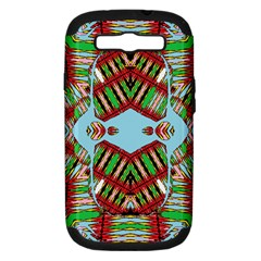 Digital Dot One Samsung Galaxy S Iii Hardshell Case (pc+silicone)