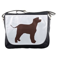 Irish Water Spaniel Silo Color Messenger Bags
